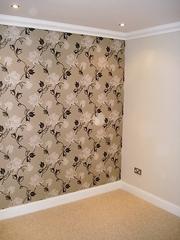 Оклейка стен обоями под окраску в Самаре,  Грунтовка стен  ,  Поклека об