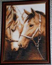 Продаю картину Пара Лошадей