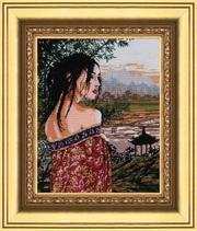 Продаю картину Утро в Японии