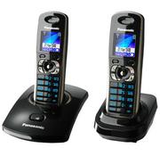 Радиотелефон Panasonic черного цвета